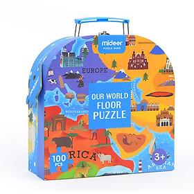 Puzzle Mideer - Xếp hình Our World - thế giới tươi đẹp