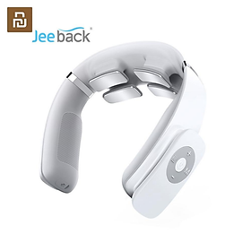 Xiaomi Youpin Jeeback G3 Electric Wireless Neck Massager TENS Pulse Relieve Neck Pain 4 Head Vibrator Heating Cervical Massage Tools