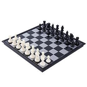 Bộ cờ vua đế nam châm thông minh với thiết kế gấp gọn phù hợp mang đi du lịch