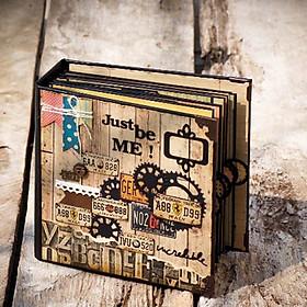 Scrapbook Vintage (21 x 21 cm)