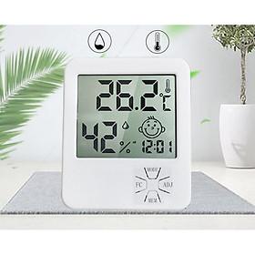 Thiết bị đo nhiệt độ, độ ẩm có độ chính xác cao kiêm đồng hồ xem giờ