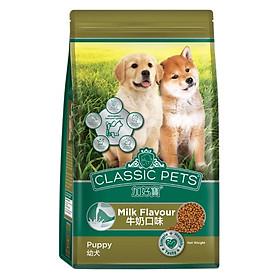 Đồ Ăn Cho Chó Con Classic Pets Hương Vị Sữa (500g)