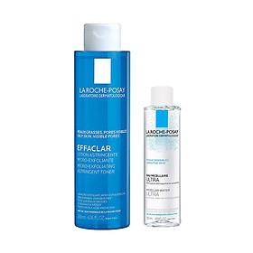 Bộ sản phẩm chăm sóc da giúp se khít lỗ chân lông và làm sạch sâu La Roche-Posay