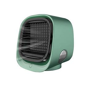 Quạt điều hòa mini để bàn TiLoKi Air Cooler M201 3 tốc độ làm mát nhanh tiết kiệm điện - Hàng Chính Hãng