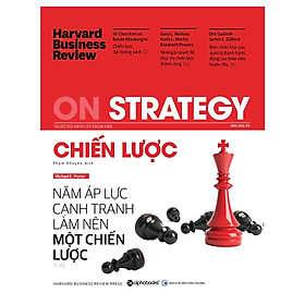 Tủ Sách Dành Cho Doanh Nhân: HBR On Strategy - Chiến Lược; Tặng Sổ Tay Giá Trị (Khổ A6 Dày 200 Trang)