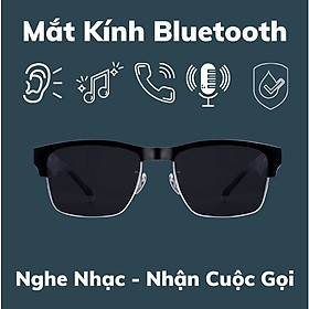 Mắt Kính Thông Minh Kiêm Tai Nghe Bluetooth 5.0 - Hàng Nhập Khẩu