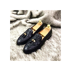 Giày Da Nam Chuông Vàng Lịch Lãm Phong Cách Quý Ông