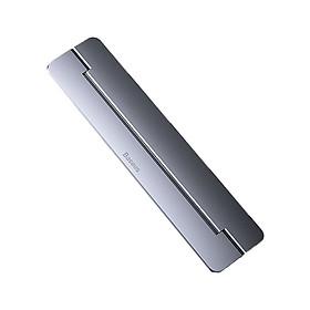 Giá Đỡ Laptop, Chân Đế  Di Động Hộp Kim Nhôm Baseus Papery Notebook Holder Dạng Gập Gọn Và Nhẹ Có Một Góc Nghiêng 8 Độ, Sử Dụng Từ 11.6-17 Inch Dành Cho Tất Cả Macbook / Laptop - Hàng Chính Hãng