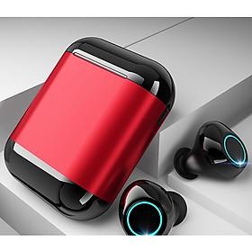 Tai Nghe Không Dây TWS Kết Nối Bluetooth 5.0 Âm Thanh Nổi Kèm Hộp Sạc