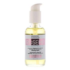 Advanced Clinicals Body Anti-Aging Rosehip Essential Oil (112 ml)