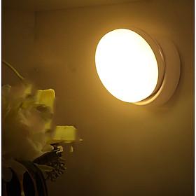 Đèn LED cảm ứng, cảm biến thông minh không dây, Pin sạc, nhận diện người có nam châm gắn tường xoay 360 độ làm đèn học, cho phòng ngủ, nhà vệ sinh, cho tủ quần áo, cầu thang, ban công, hành lang - MH2011
