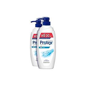 Bộ 2 sữa tắm diệt khuẩn Protex Fresh sạch sảng khoái 500ml/chai