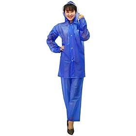 Bộ quần áo đi mưa trong màu Rando ASPC-01 che chở cho người thân yêu của bạn ( GIAO MÀU NGẪU NHIÊN)