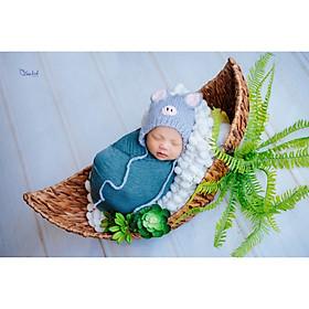 Chụp ảnh cho bé sơ sinh tại nhfa của gia đình - Gói NewBorn Home Calla Home VIP