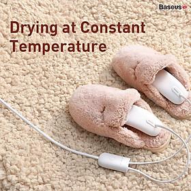 Máy làm ấm, sấy khô giày dép Baseus Foot Quick Heat Sterilization Shoe Dryer hàng nhập khẩu
