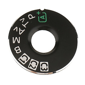 Interface Cap Button Replacement Part Dial Mode Plate for Canon EOS 5D Mark 3 & 6D, Digital Camera Repair Accessories