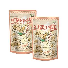 Combo 2 gói Hạnh nhân vị Yogurt Hàn Quốc Tomsfarm Yogurt Almond 210g x 2ea