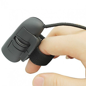 Chuột Đeo Ngón Tay Có Dây Finger Mouse Siêu Tiện Lợi Cho Dân Văn Phòng (Đen)
