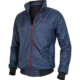 Áo khoác nam GOKING mũ dấu hiện đại, 1 túi trong 2 túi ngoài, áo khoác gió 2 lớp, vải dù cao cấp chống nước, đi mưa, cản gió tốt, giữ ấm hiệu quả