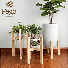 Đôn gỗ đựng cây cảnh / Trang trí nhà cửa