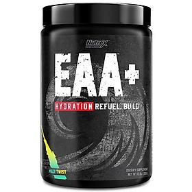 Nutrex EAA+ Hydration, Phục Hồi & Xây Dựng Cơ Bắp, Sức Mạnh, Sức Bền, Bổ Sung 8G Amino Axit Thiết Yếu + BCAA  + 1.5G Chất Điện Giải, 30 Lần Dùng