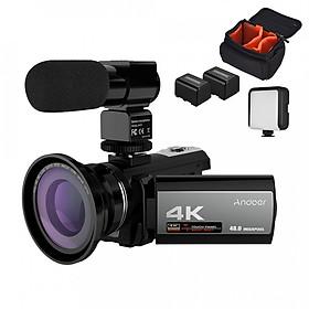 Máy Quay Video Kỹ Thuật Số Andoer HDV-214K (4k) (48mp)