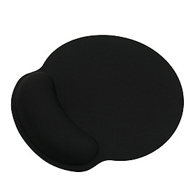 Wrist Rest Mouse Pad Memory Foam Ergonomic Design Office Mouse Pad with Non-slip Wrist Support