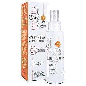 Kem chống nắng hữu cơ cho mẹ và bé SPF20 100ml - Anthyllis