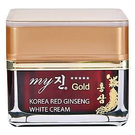 Kem Sâm Dưỡng Ẩm Và Trắng Da My Gold Korea Red Ginseng White Cream (50ml)