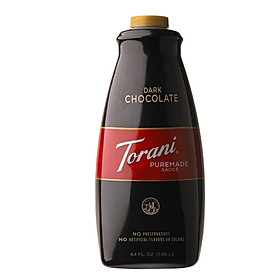 Sốt Torani PureMade Chocolate Đen - Dark Chocolate Sauce 1,89 lít