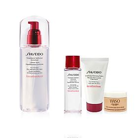 Bộ sản phẩm Nước làm mềm da dưỡng ẩm sâu Shiseido Treatment Softener Enriched 150ml-14532