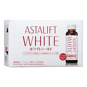 Collagen dạng nước dưỡng trắng chống nắng Astalift Drink Whiteshield(10 lọ x 50ml)