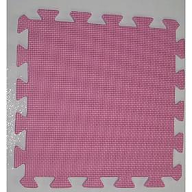 Thảm Chống Trơn Cho Bé Trơn 60cmx60cm màu hồng