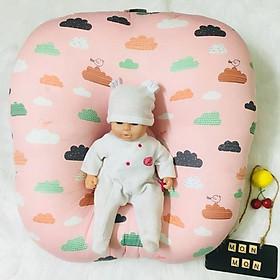 Gối Chống Trào Ngược ️TẶNGQUÀ️ Gối Đa Năng Chữ C cho bé sơ sinh ngủ ngon hết nôn trớ