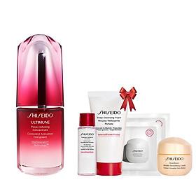 Bộ sản phẩm Tinh chất dưỡng da Shiseido Ultimune Power Infusing Concentrate N 30ml