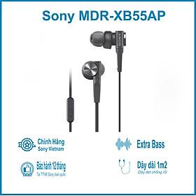 Tai Nghe Nhét Tai Sony ExtraBass MDR-XB55AP - Hàng Chính Hãng