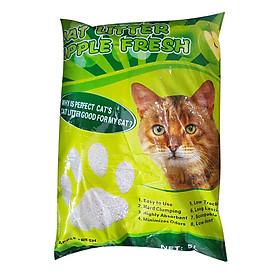 Cát Vệ Sinh Cho Mèo Hương Táo - Perfect Cat 5 Lít
