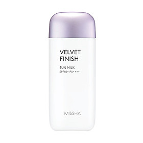 Kem chống nắng MISSHA All Around Safe Block Velvet Finish Sun Milk SPF50+PA++++
