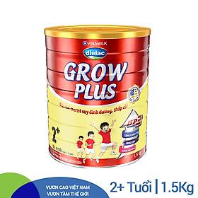 Sữa Bột Vinamilk Dielac Grow Plus 2+ (1500g / Hộp Thiếc)