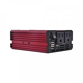 Hình đại diện sản phẩm DC 12V To 110V 3.1A Dual USB Car Power Inverter 300W Modified Sine Wave Converter