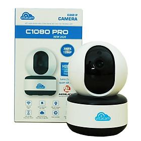 Camera  IP Wifi Thông Minh Vitacam C1080 Pro 3.0Mpx Công Nghệ Ai - Xoay 360 Độ - Hàng Chính Hãng