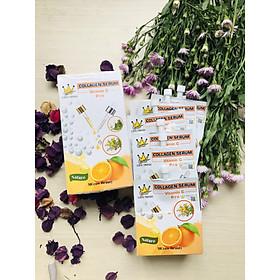 Combo 2 Gói Serum Dưỡng Ẩm Thần Kì tặng kèm Bông Tẩy Trang Mihoo 150 miếng - Serum Mcrow Collagen Vit C