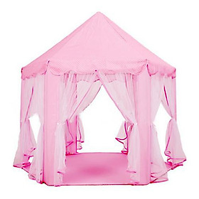 Lều Chơi Cho Bé Kiểu Dáng Công Chúa - màu hồng