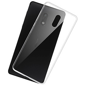 Ốp lưng dẻo silicon Nokia 6 2017 Ultra Thin (mỏng 0.6mm, Trong suốt) - Hàng chính hãng
