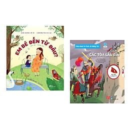 Combo 2 cuốn Em bé đến từ đâu? (Tái bản) + Bách khoa tri thức đa tương tác - Các tòa lâu đài