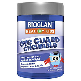 Bioglan Kids Eye Guard Chewable 50 Tablets