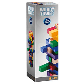 Đồ Chơi Xây Tháp Woody - Xám