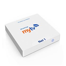Hộp Android tivi box MyTV Net 1 - Điều khiển giọng nói với KM650V Hàng Chính Hãng
