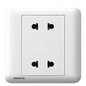 Siemens (SIEMENS) switch socket Haorui 10A four-hole socket jade glaze white