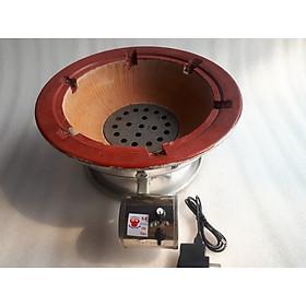 Lò than có quạt tròn 38cm dùng cho quán ốc vỉ hè